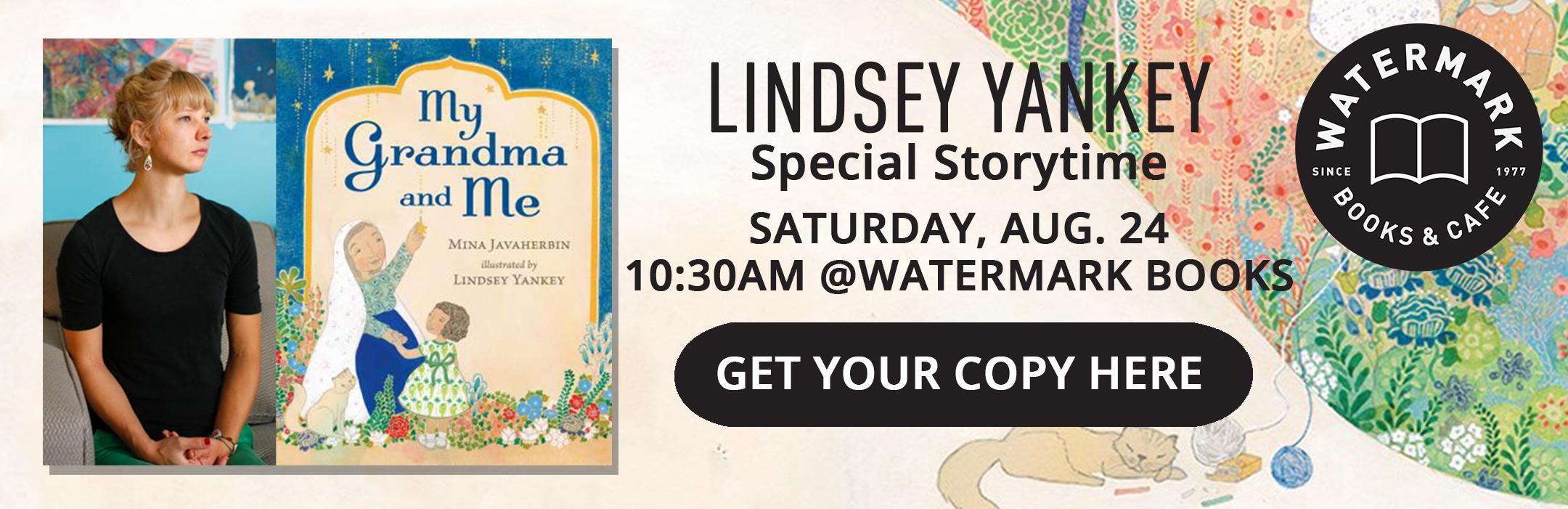 Special Storytime with Kansas Illustrator Lindsey Yankey at Watermark Books